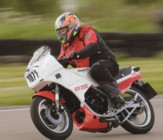Andy at the Mallory Park Festival of 1000 Bikes