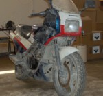 Abandoned KR250S in Iraq
