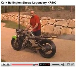 Kork Ballington and the legendary KR500