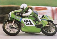 Eddie Lawson on the KR250