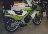 Nigel's KR250 at the 1999 Stafford Show