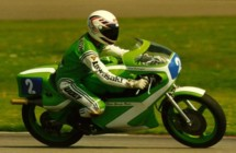 Kork Ballington on the KR250 at Assen