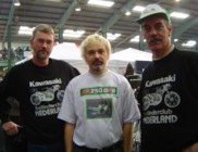 Alfons, Me and Hans at the Stafford Show, Oct 2003