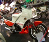 Andy's KR250 on the VJMC stand, Stafford 2006