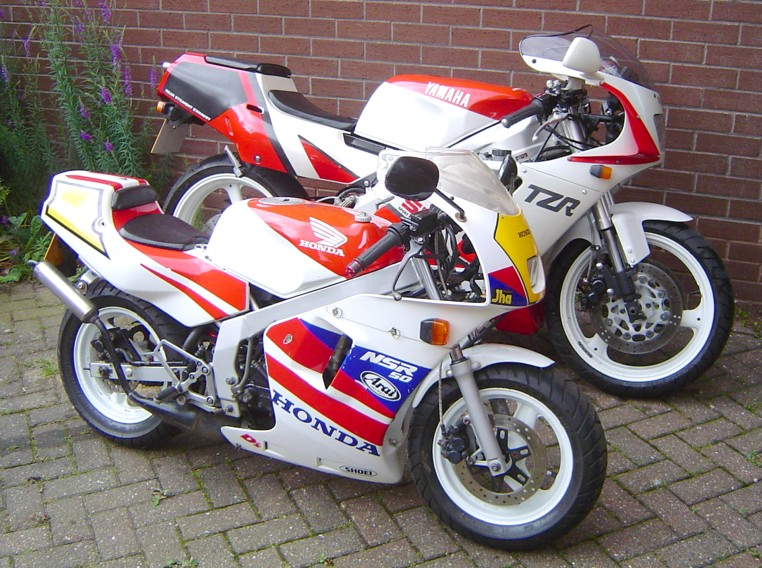 TZR250SP and NSR50 Gag