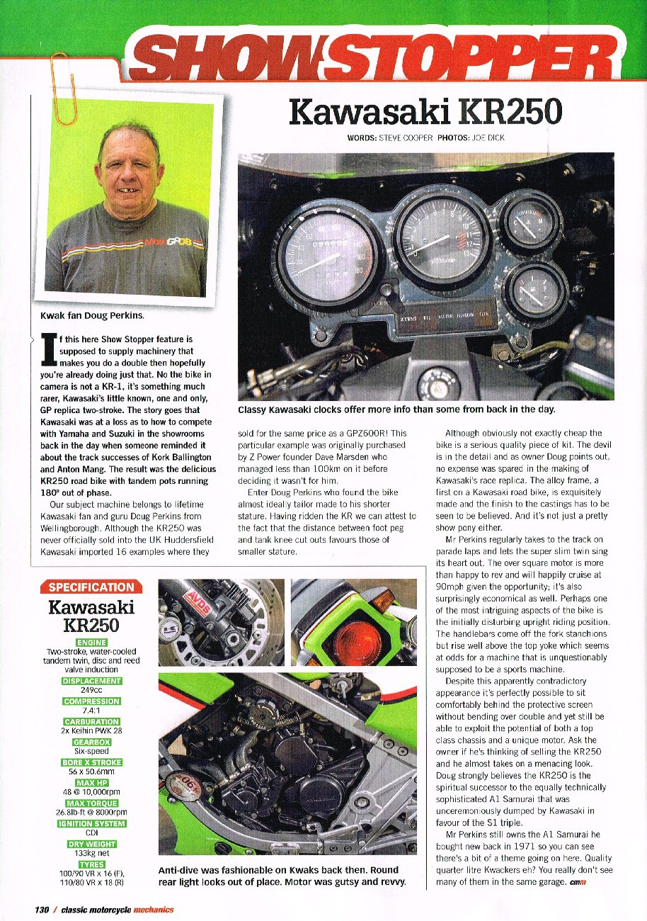 Classic & Motorcycle Mechanics Oct 2013 : Page 1