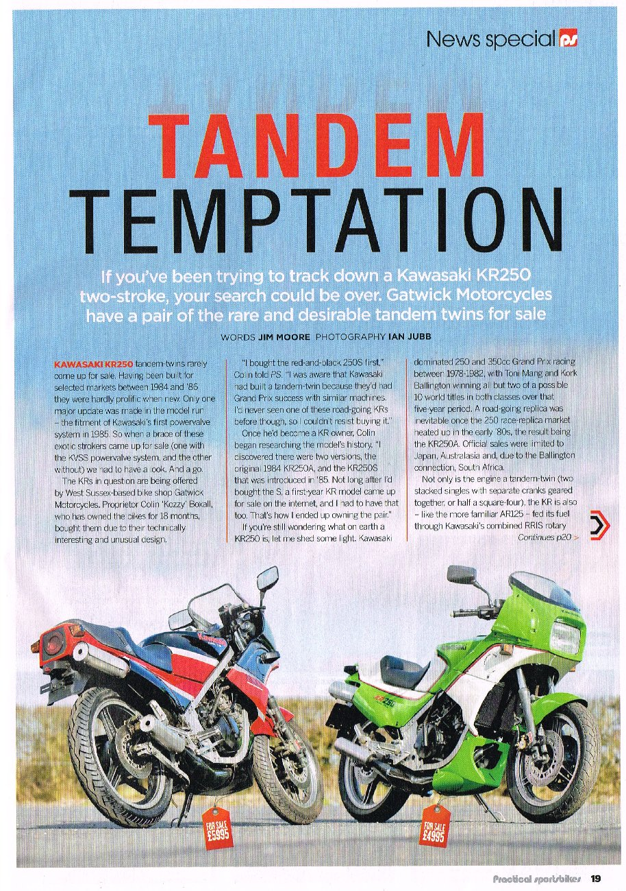 Practical Sportsbikes Apr 2014 : Page 1